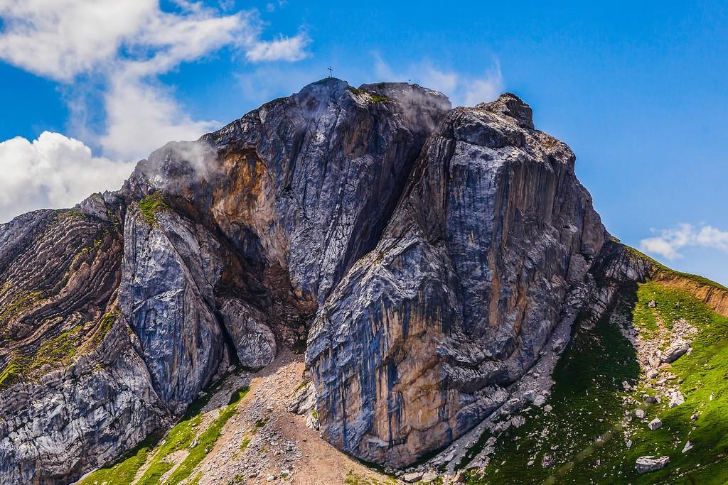 瑞士卢塞恩(Lucerne),山的语言_图1-5