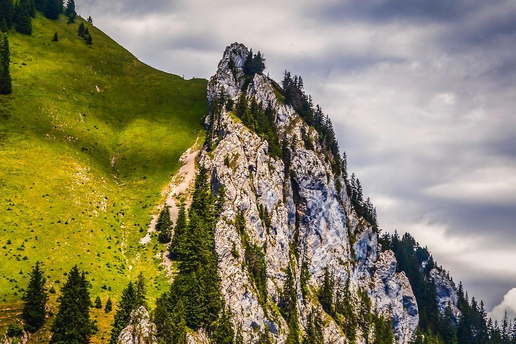 瑞士卢塞恩(Lucerne),山的语言_图1-4
