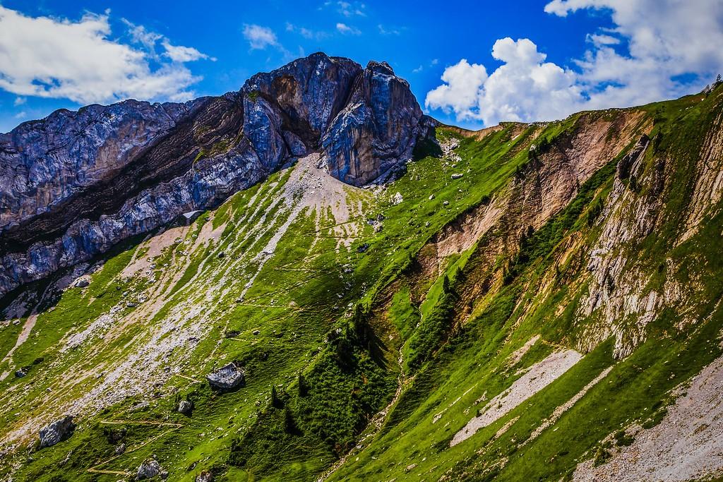 瑞士卢塞恩(Lucerne),山的语言_图1-6