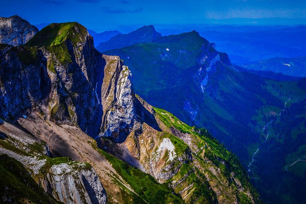 瑞士卢塞恩(Lucerne),山的语言_图1-2