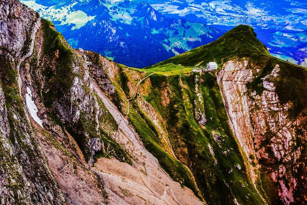 瑞士卢塞恩(Lucerne),山的语言_图1-11