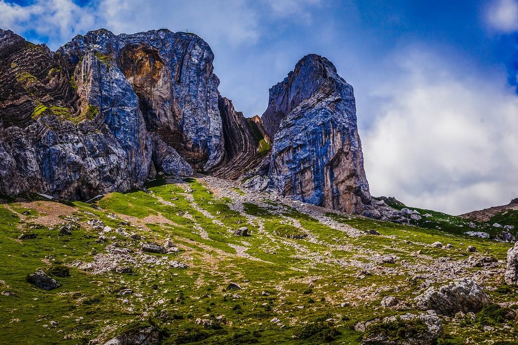 瑞士卢塞恩(Lucerne),山的语言_图1-10