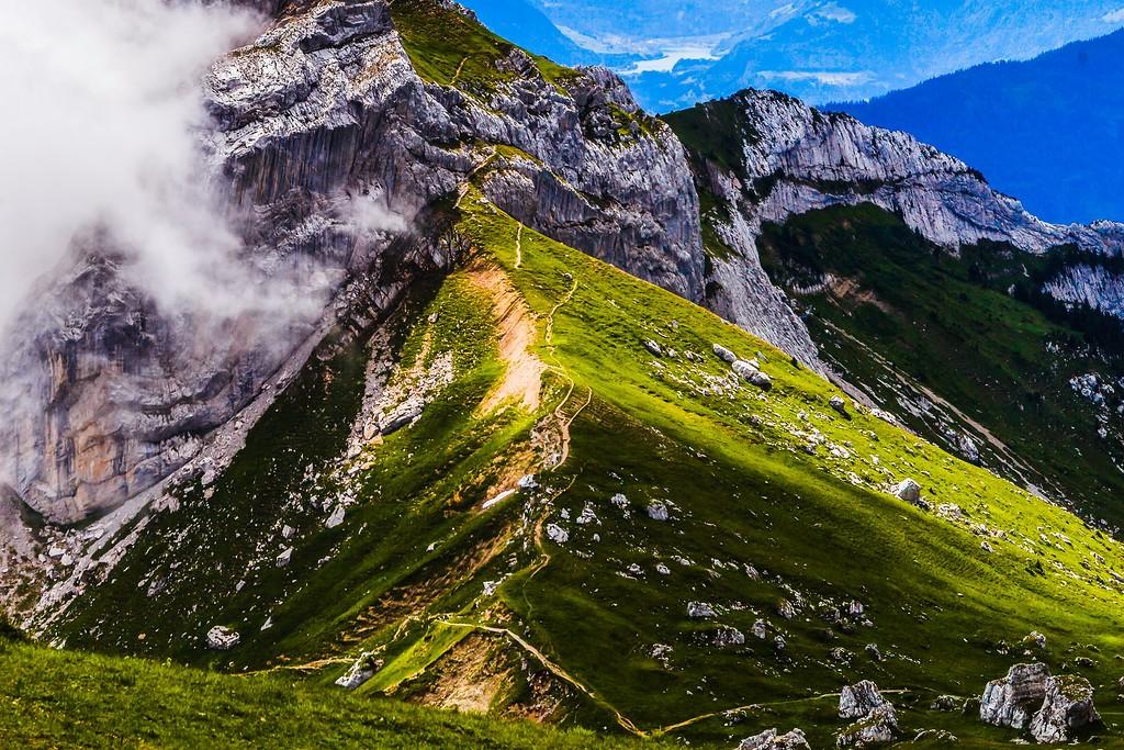 瑞士卢塞恩(Lucerne),山的语言_图1-16