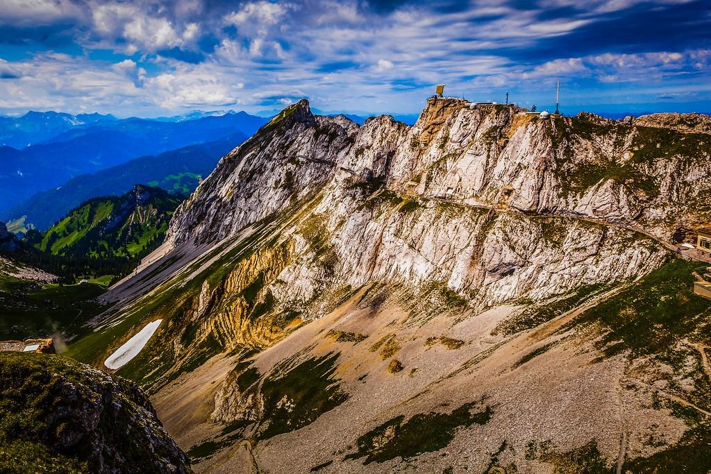 瑞士卢塞恩(Lucerne),山的语言_图1-24