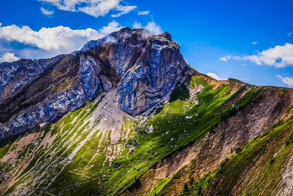 瑞士卢塞恩(Lucerne),山的语言_图1-22