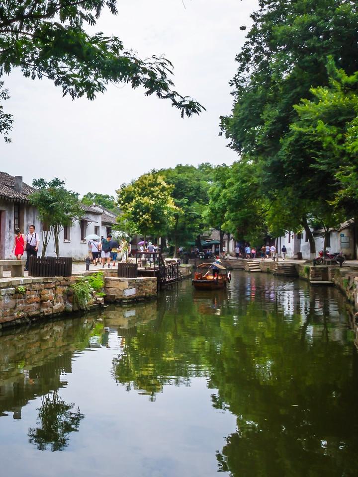 中国江苏同里,水乡美景_图1-2