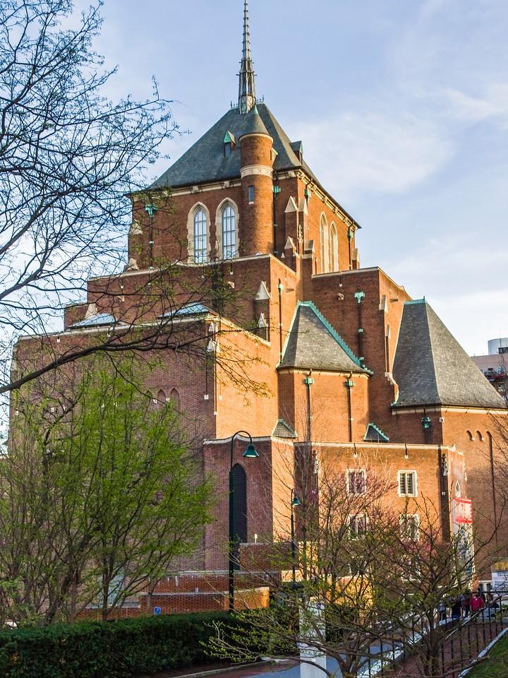 美国费城宾夕法尼亚大学,校园建筑_图1-1