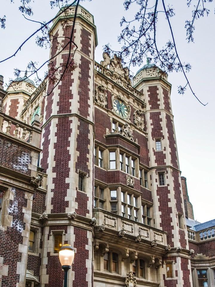 美国费城宾夕法尼亚大学,校园建筑_图1-4