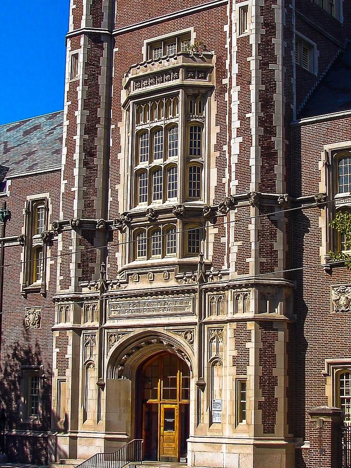 美国费城宾夕法尼亚大学,校园建筑_图1-7