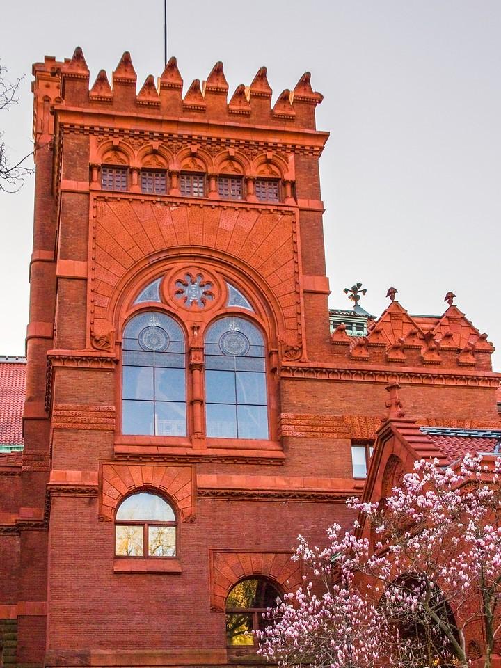 美国费城宾夕法尼亚大学,校园建筑_图1-9