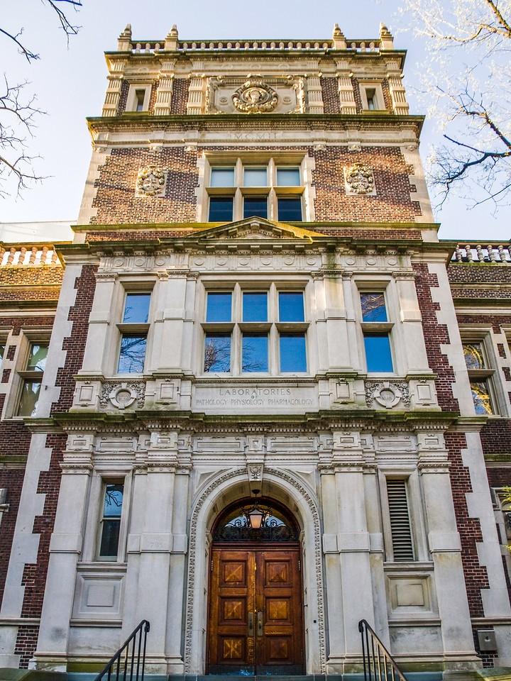 美国费城宾夕法尼亚大学,校园建筑_图1-12