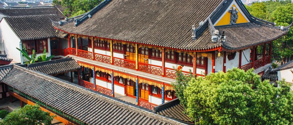 苏州寒山寺,始建1500年以前_图1-9