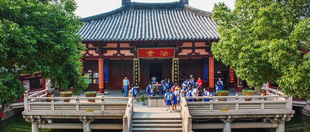 苏州寒山寺,始建1500年以前_图1-8