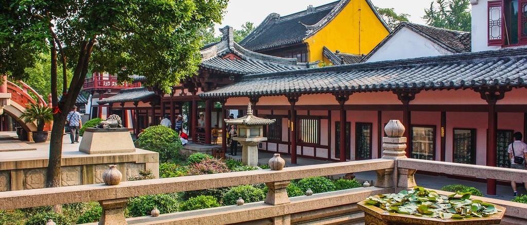 苏州寒山寺,始建1500年以前_图1-3
