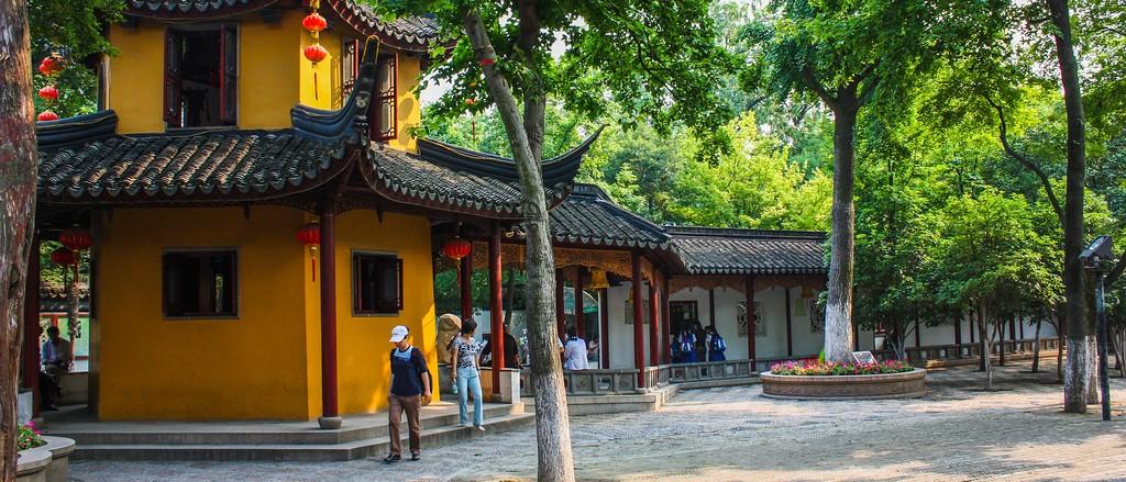 苏州寒山寺,始建1500年以前_图1-2