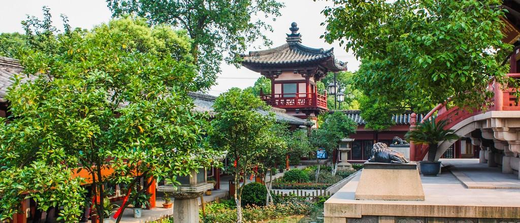 苏州寒山寺,始建1500年以前_图1-1