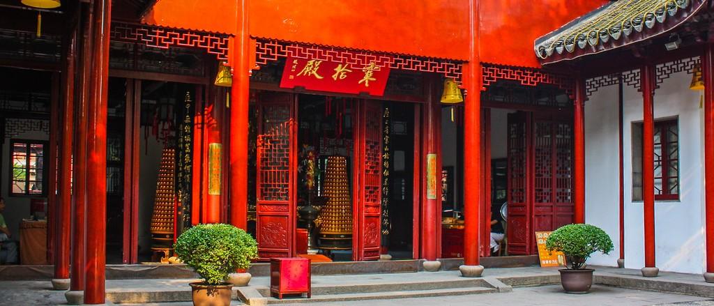 苏州寒山寺,始建1500年以前_图1-11