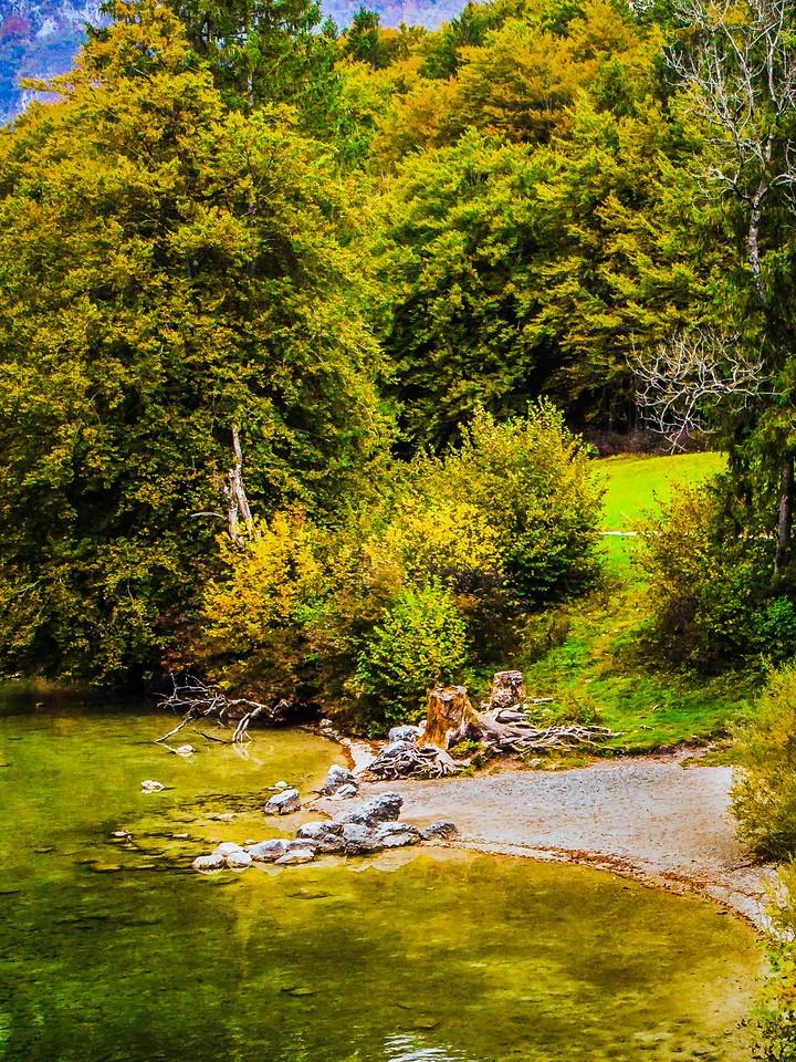 斯洛文尼亚博希尼湖(Lake Bohinj),秋色浓浓_图1-9