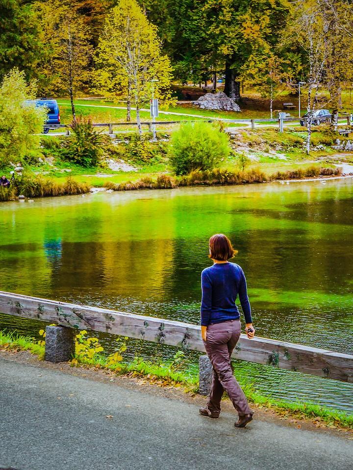斯洛文尼亚博希尼湖(Lake Bohinj),秋色浓浓_图1-3