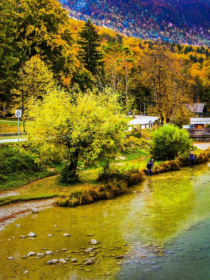 斯洛文尼亚博希尼湖(Lake Bohinj),秋色浓浓_图1-4