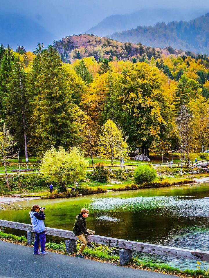 斯洛文尼亚博希尼湖(Lake Bohinj),秋色浓浓_图1-13