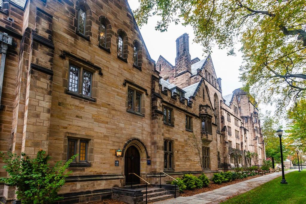 美国耶鲁大学,校园建筑_图1-14