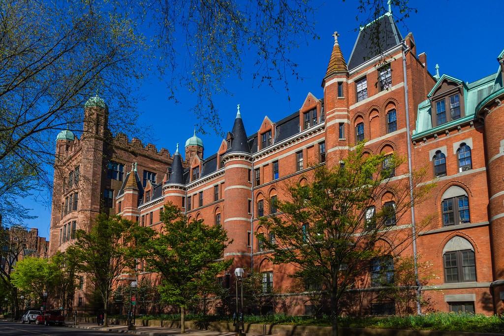美国耶鲁大学,校园建筑_图1-10