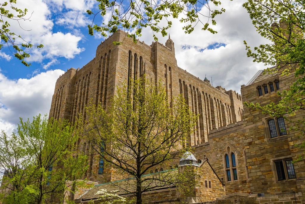 美国耶鲁大学,校园建筑_图1-9