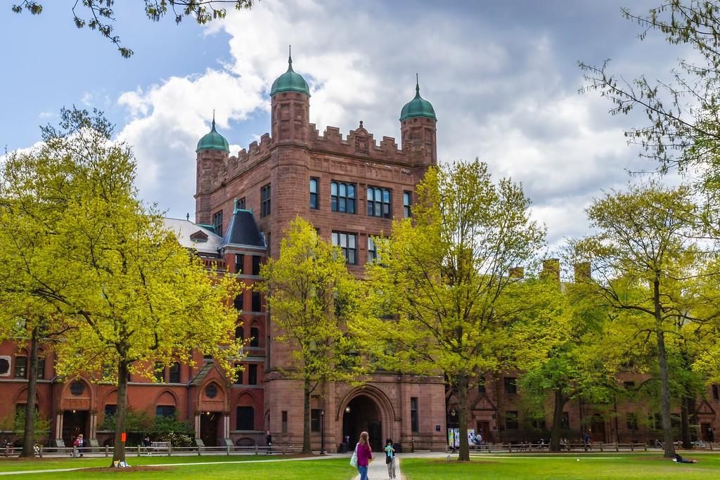 美国耶鲁大学,校园建筑_图1-1