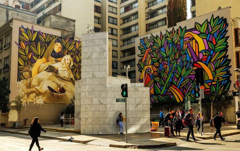 智利圣地亚哥的一天_图1-19