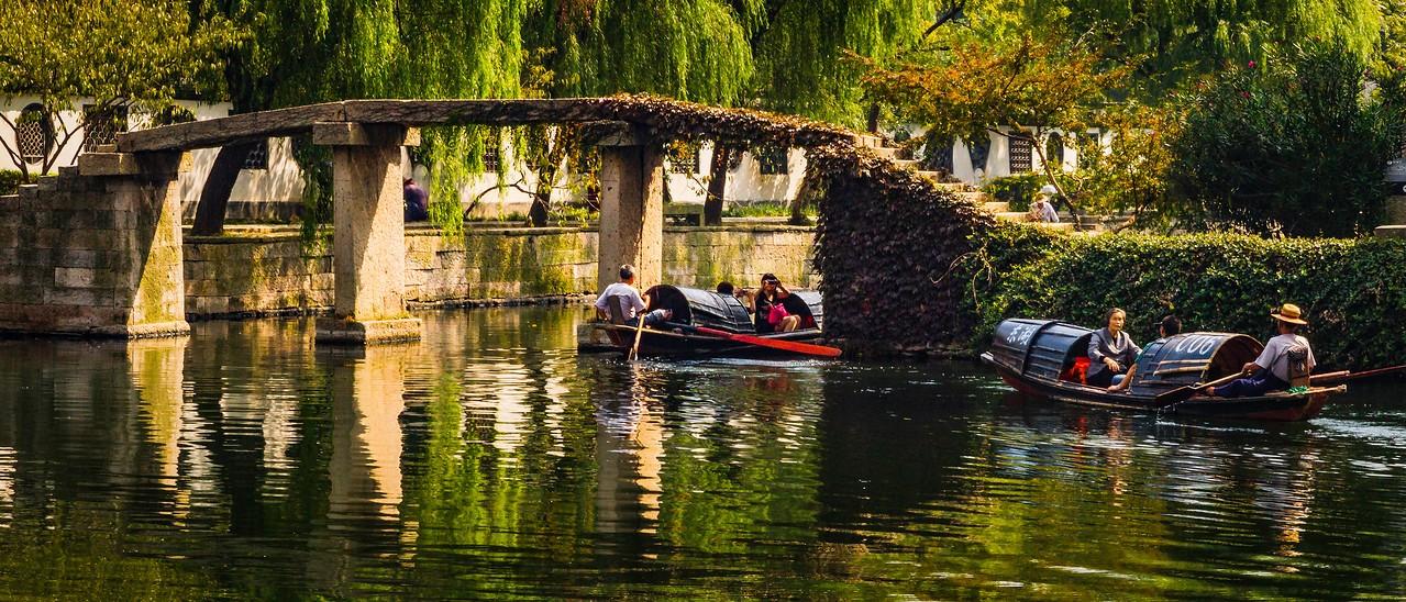 浙江东湖,小桥小船_图1-12