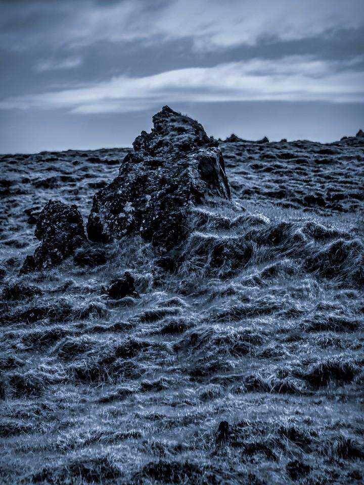 冰岛Djúpalónssandur沙滩,远近礁石_图1-5