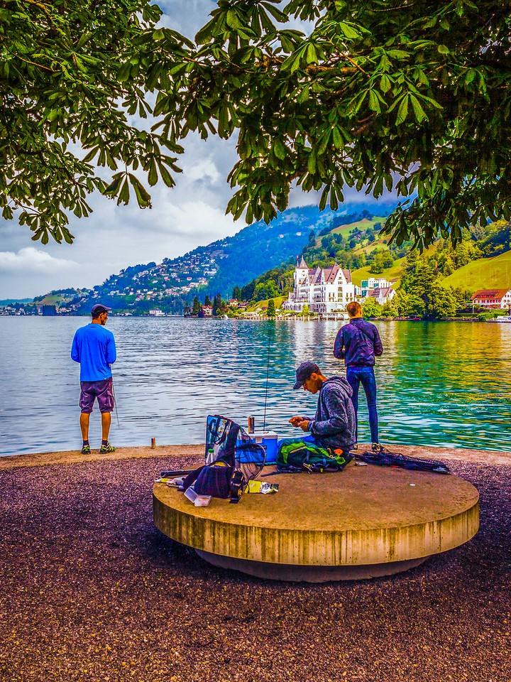 瑞士卢塞恩(Lucerne),城市快照_图1-14