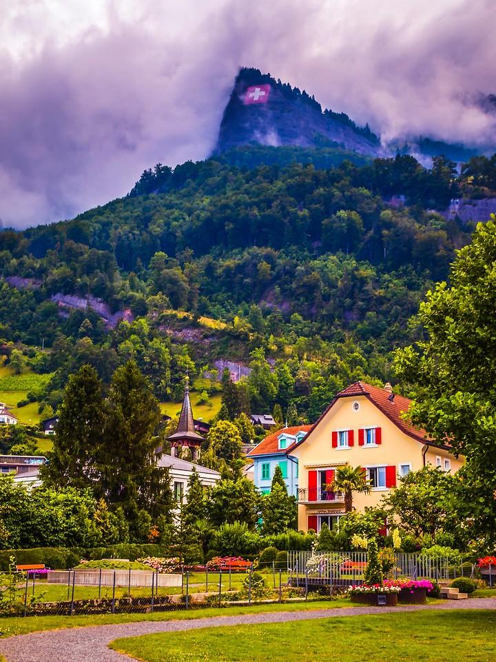 瑞士卢塞恩(Lucerne),城市快照_图1-12