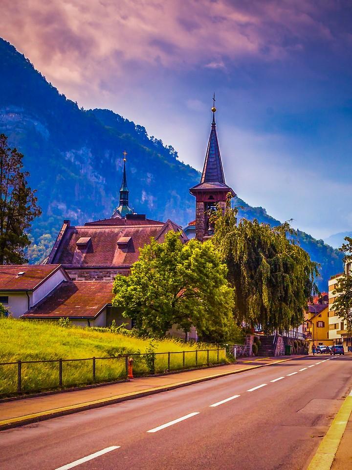 瑞士卢塞恩(Lucerne),城市快照_图1-2