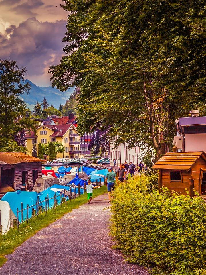 瑞士卢塞恩(Lucerne),城市快照_图1-6