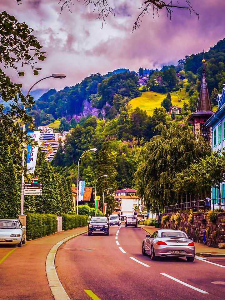 瑞士卢塞恩(Lucerne),城市快照_图1-3