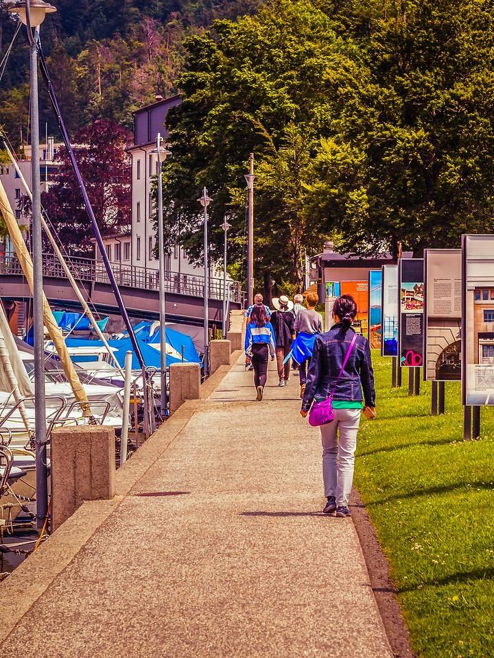 瑞士卢塞恩(Lucerne),城市快照_图1-7