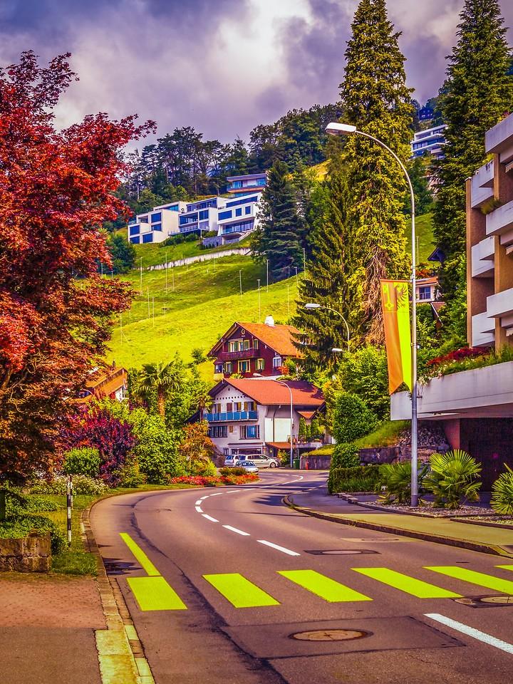 瑞士卢塞恩(Lucerne),城市快照_图1-1