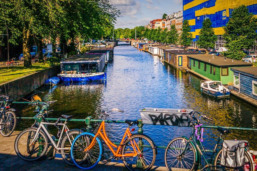 荷兰阿姆斯特丹,城市景象_图1-17