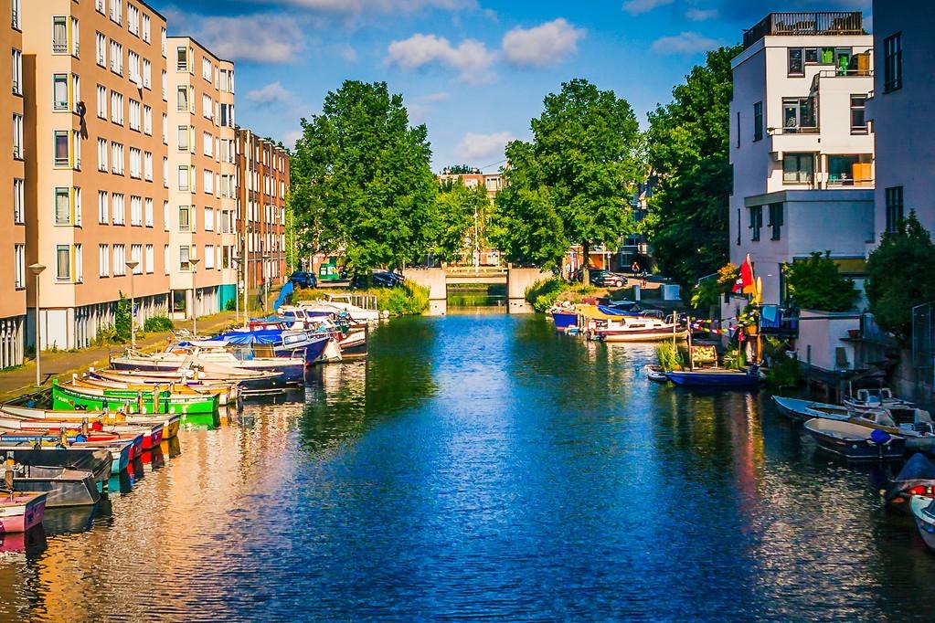 荷兰阿姆斯特丹,城市景象_图1-20