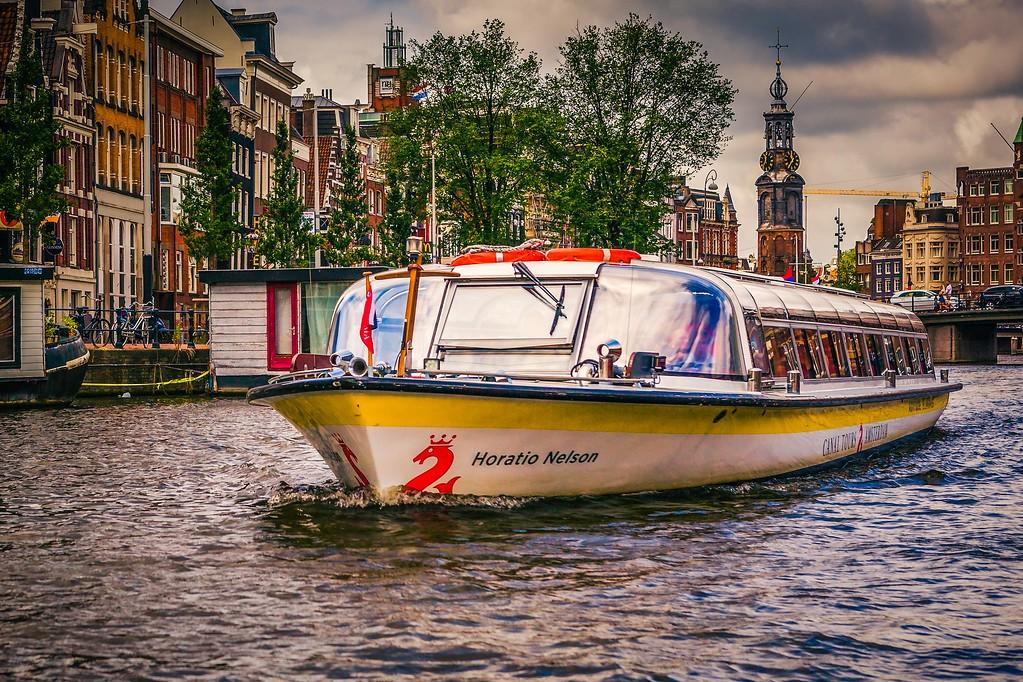 荷兰阿姆斯特丹,城市景象_图1-14