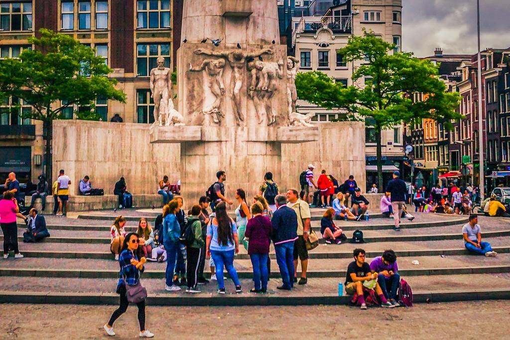 荷兰阿姆斯特丹,城市景象_图1-16