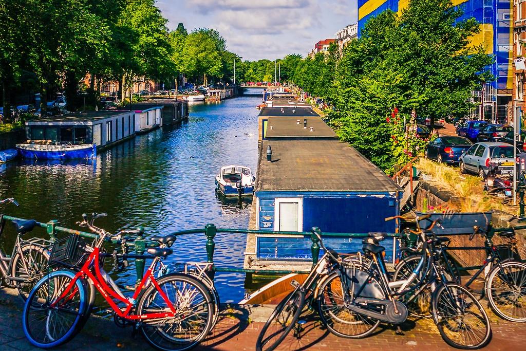 荷兰阿姆斯特丹,城市景象_图1-18