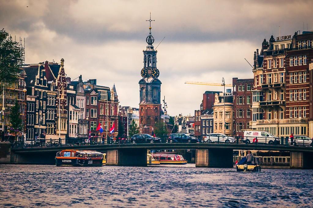 荷兰阿姆斯特丹,城市景象_图1-13