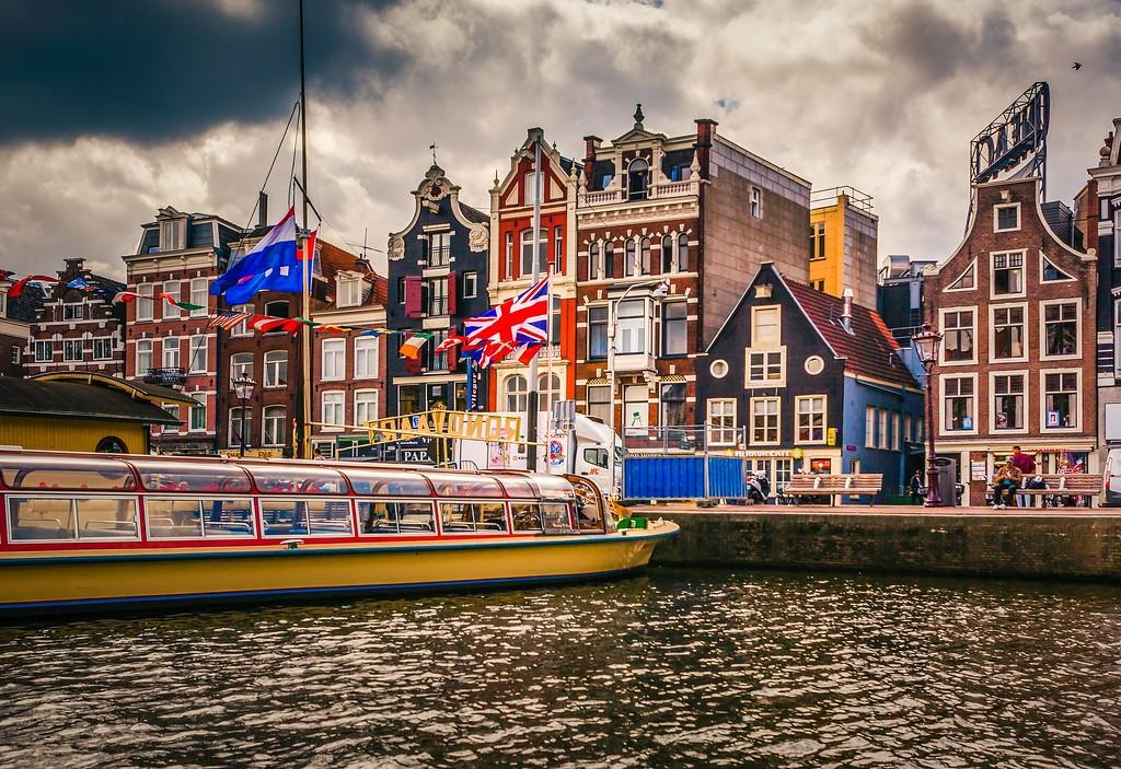 荷兰阿姆斯特丹,城市景象_图1-2