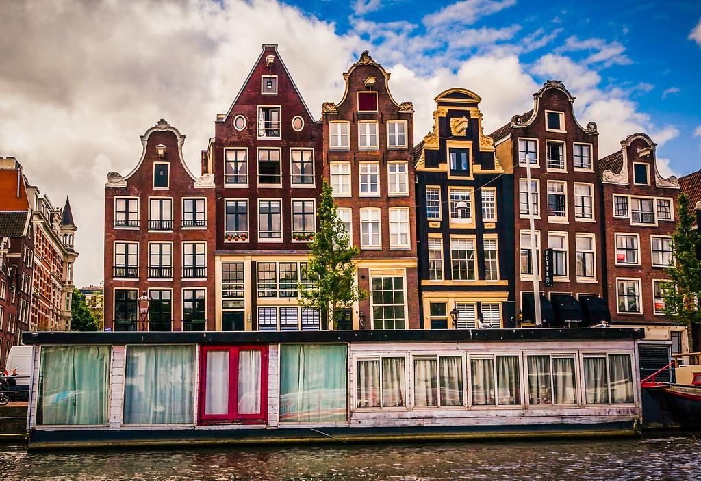荷兰阿姆斯特丹,城市景象_图1-3
