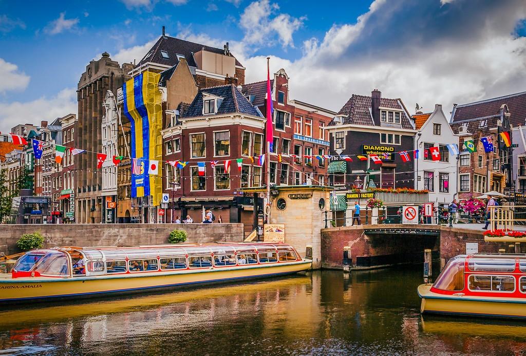荷兰阿姆斯特丹,城市景象_图1-12