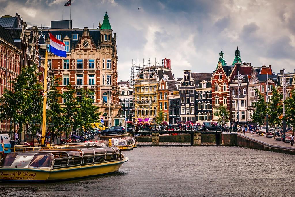 荷兰阿姆斯特丹,城市景象_图1-7