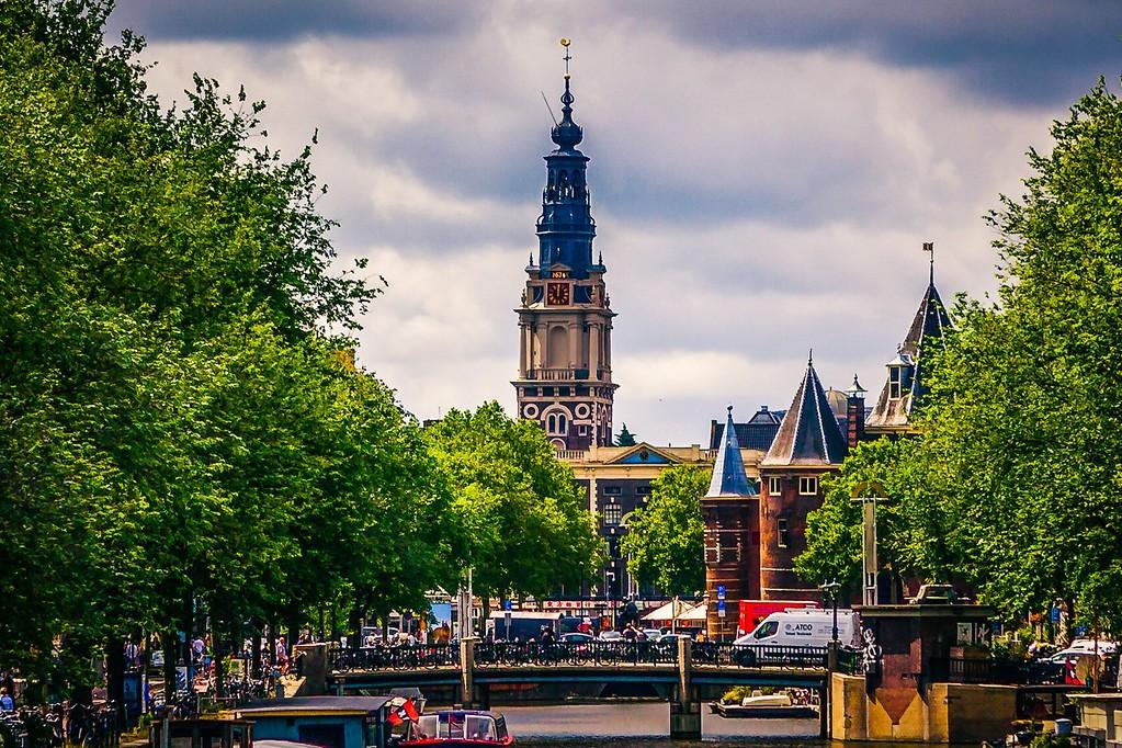 荷兰阿姆斯特丹,城市景象_图1-6